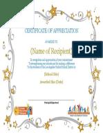 Template - Volunteer Certificate[1]