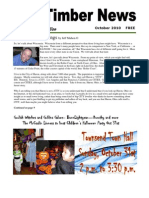The Timber News! -- October 2010