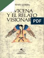 112432062 Avicena y El Relato Visionario Estudio Sobre El Ciclo de Los Relatos