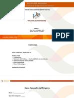 MODELO PPT Avance de Proyecto - E1