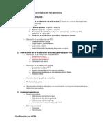 1 Clasificación fisiopatológica de las anemias
