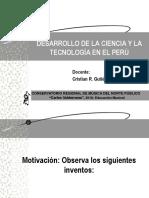 Ciencia y Tecnología en El Perú