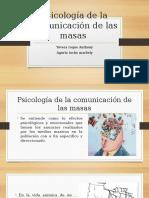 Psicología de La Comunicación de Las Masas