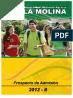 Prospecto de admisión - Unalm 2012 II