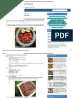 Resep Aneka Sambal Nusantara Enak Pedas _ Bahan Bumbu Aneka Resep Masakan Indonesia Praktis