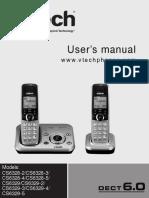 Manual Teléfono Vtech CS6329