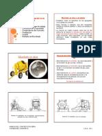 Concreto Mezclado en Obra y Concreto Premezclado
