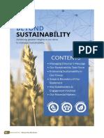 Sustainability Statement 2017