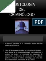 Deontologia Del Criminologo
