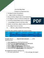 Exercises for Task 3