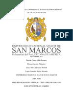 Monografía de HIstoria Del Derecho
