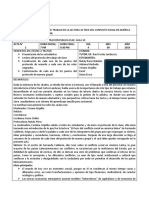 Acta:10 Tesis Del Conflicto Social