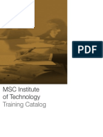 MSC_TrainingCatalog