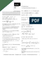 Itute 2007 Mathematical Methods Examination 2 Solutions