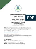 EPA Flyer