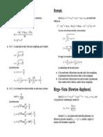 Formulario polinomios