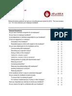 Employee Handbook Checklist PDF