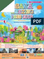 OSAKA Amazing Pass Guide Book