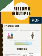 MIELOMA MúLTIPLE PRESENTACIÓN.pptx
