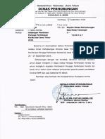 Undangan Pembinan Penjaga Perlintasan Kereta API Jawa Timur 2018