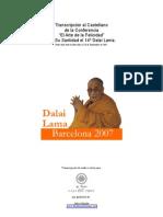 Texto Conferencia El Arte de La Felicidad en Castellano de Su Santidad