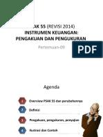 Pkp-08-Instrumen Keuangan-psak 55 (Revisi 2014)-Pengakuan Dan Pengukuran