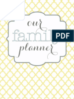 Home Organizational Binder Printables
