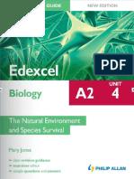 A2 Student Unit Revision Guide Edexcel Biology Unit 4