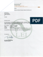 Surat MFP Amandemen Auditor SVLK