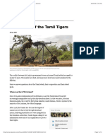 The history of the Tamil Tigers | Sri Lanka News | Al Jazeera