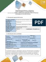 Guìa de Actividades y Rùbrica de Evaluaciòn - Fase 4 - Plantear Estrategias de Fortalecimiento