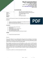 Proposal Communications