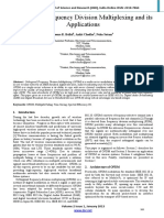 Orthogonal Frequency Division Multiplexing and Its Applications