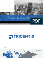 Tosca Overview - Testing at the Speed of DevOps