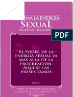"Sublima Tu Energia Sexual PDF Demo Capitulo ""El Poder de la Energia Sexual"""