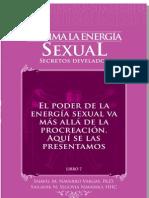 """Sublima Tu Energia Sexual PDF Demo Capitulo """"El Poder de la Energia Sexual"""""""