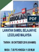 Lawatan Sambil Belajar Ke Legoland Malaysia