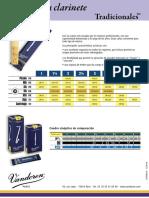 Anches de clarinette Traditionnelles ES.pdf