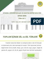 Türk Dili 1 Ders Sunumu 6