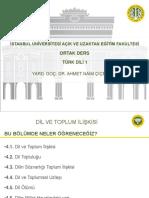 Türk Dili 1 Ders Sunumu 4