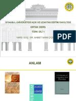 Türk Dili 1 Ders Sunumu 13