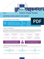 Fact Sheet Artificial Intelligence for Europe