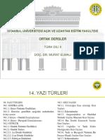 Türk Dili 2 Ders Sunumu 14