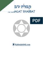 Kabbalat Shabbat