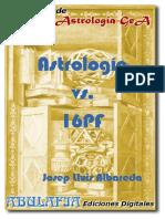 Astrologia vs 16pf Josep Lluis Albareda