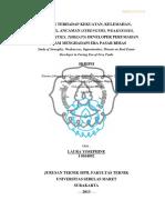 Dokumen Laporan Rencana Tata Ruang Wilayah Kabupaten Aceh Utara