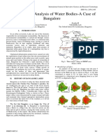 Morphological Analysis of Water Bodies-A Case of Bangalore