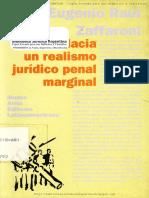 Zaffaroni-Hacia un realismo juridico penal marginal.pdf