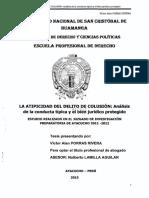 La Atipicidad Del Delito de Colusión - Porras Rivera Víctor