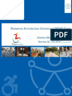 Normativa de Accesibilidad Universal Dibujada y Comentada D50 y DDU OGUC Chile Ciudad Accesible 2018 Block V3 14072018